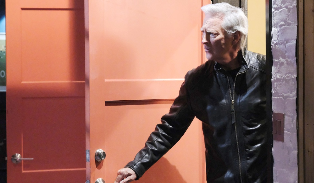 John enters Charlie's apartment on Days of Our Lives