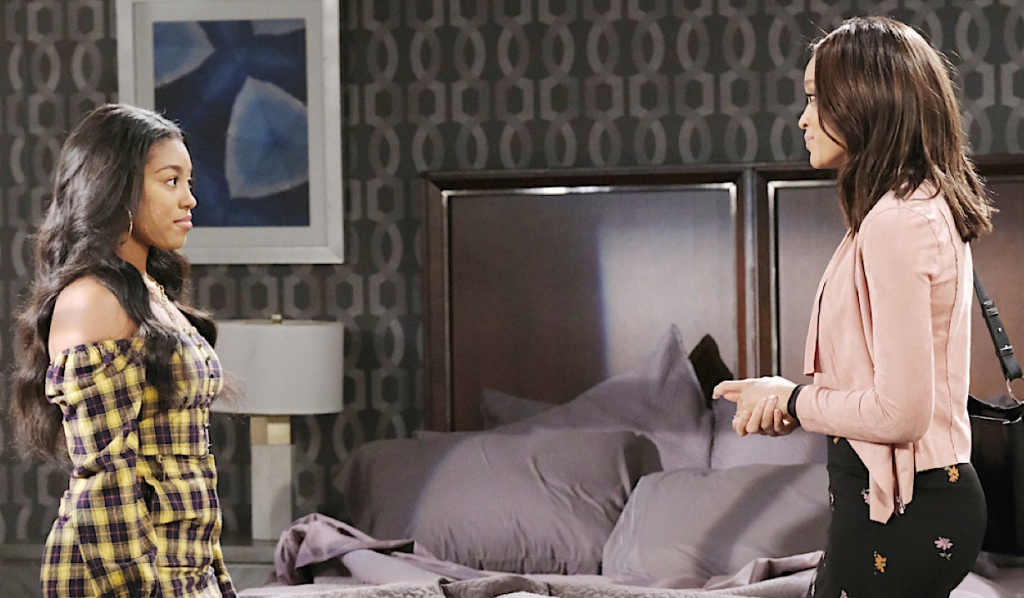 Lani tries to reason with Chanel on Days of Our Lives