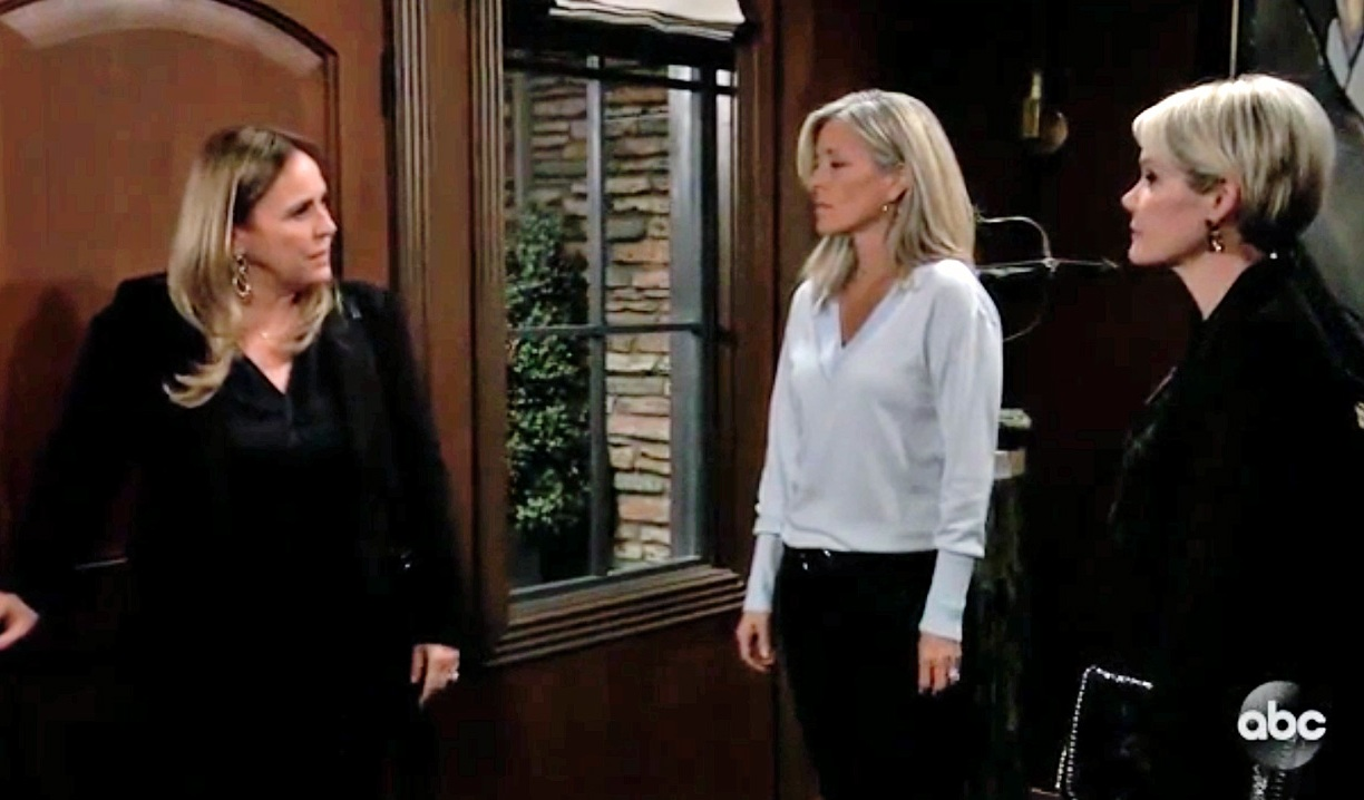 Carly, Ava and Laura team up on GH