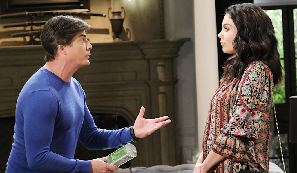 Lucas explains to Chloe on Days of Our Lives