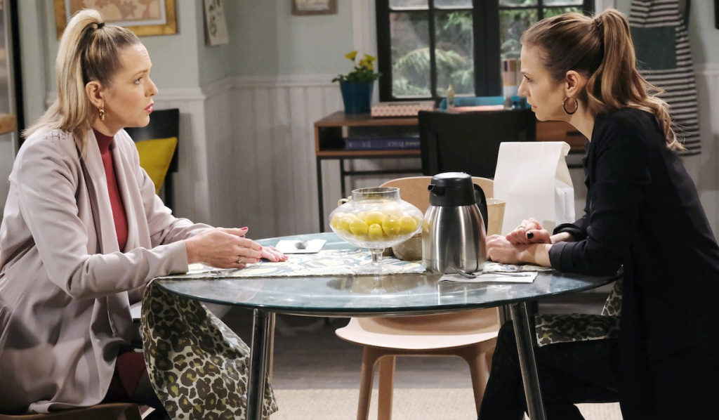 Nicole and Ava debate Tripp's guilt on Days of Our Lives