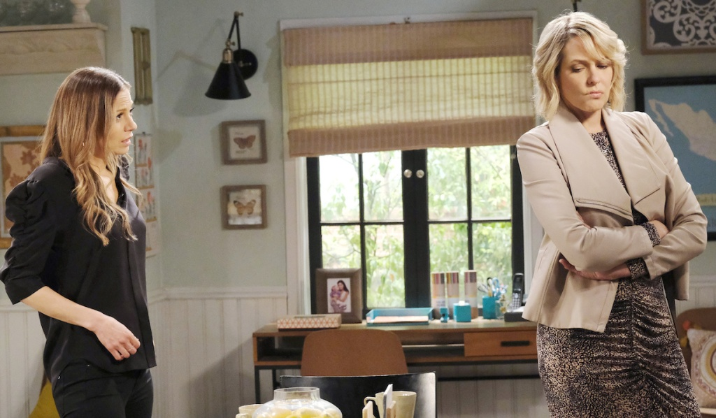 Nicole gets defensive with Ava on Days of Our Lives