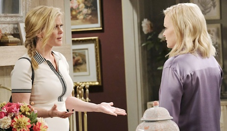 Sami and Belle face off on Days of Our Lives