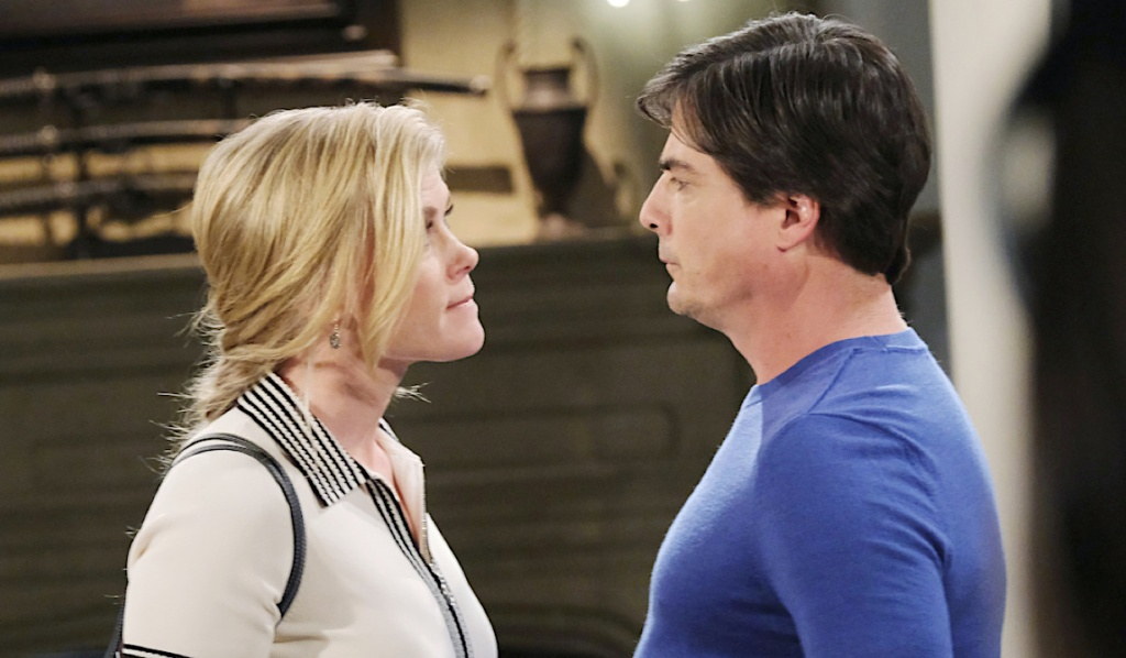 Sami gets in Lucas' face on Days of Our Lives
