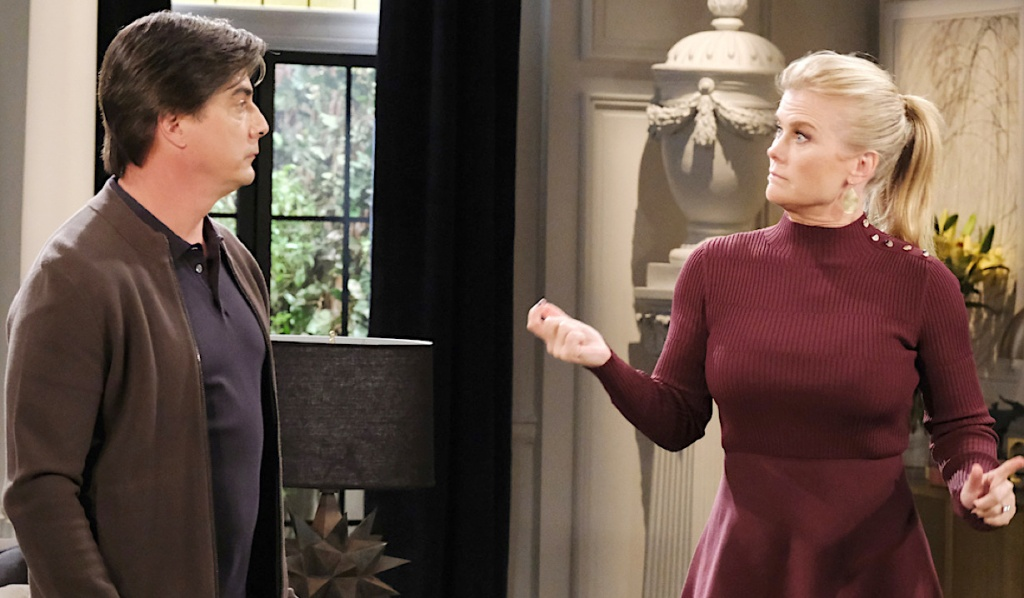 Sami reacts to Lucas on Days of Our Lives