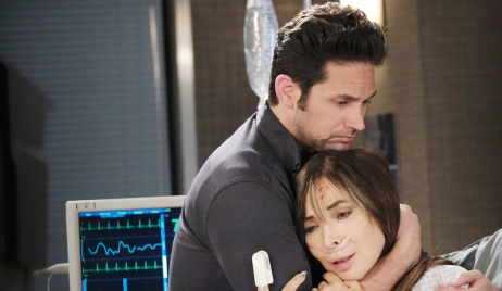 Jake holds Kate on Days of Our Lives
