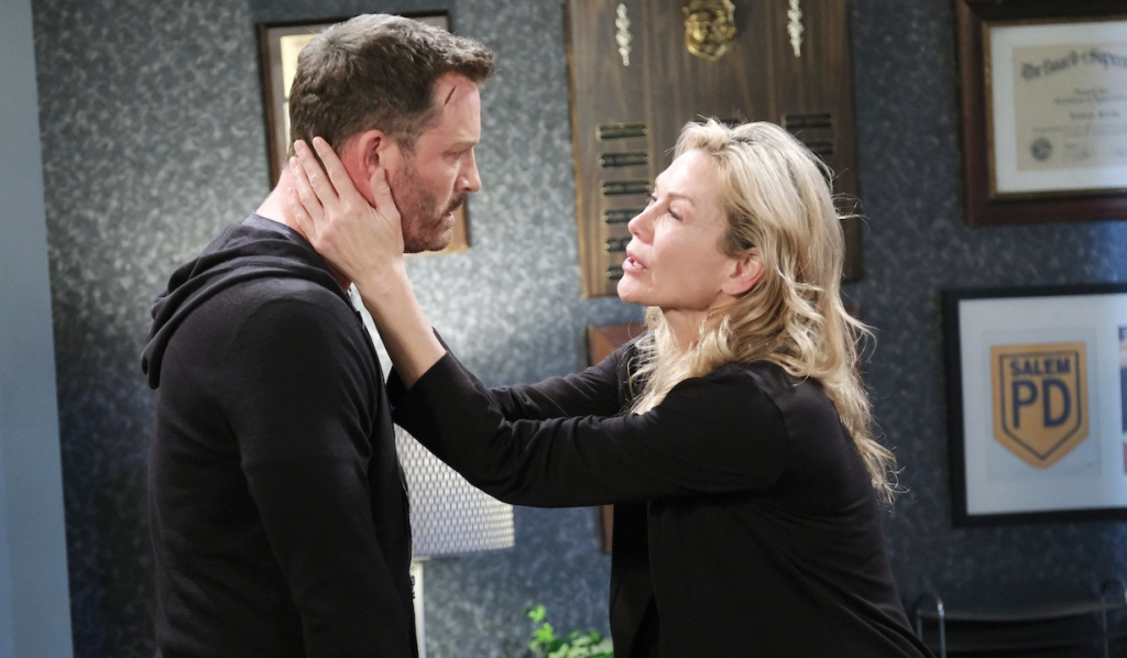 Kristen pleads with Brady on Days of Our Lives