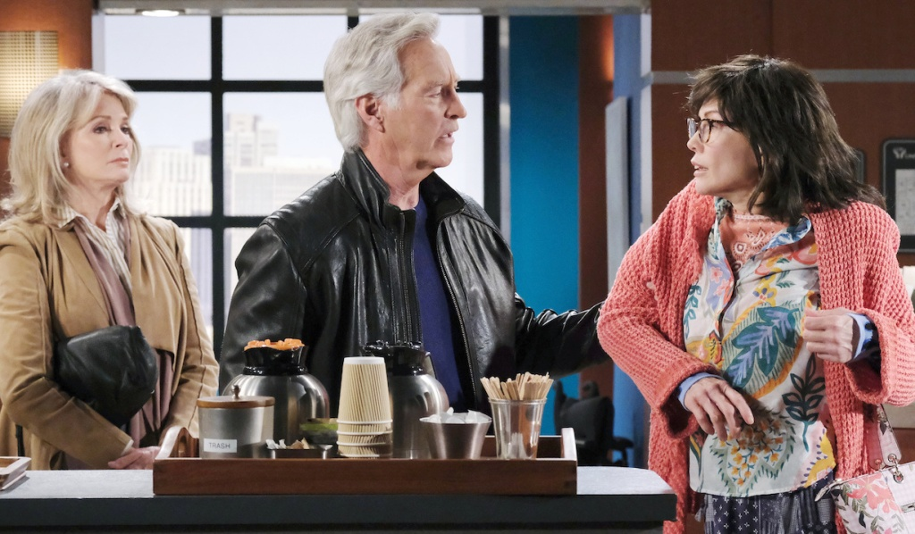 """John and Marlena confront """"Susan"""" at the hospital on Days of Our Lives"""