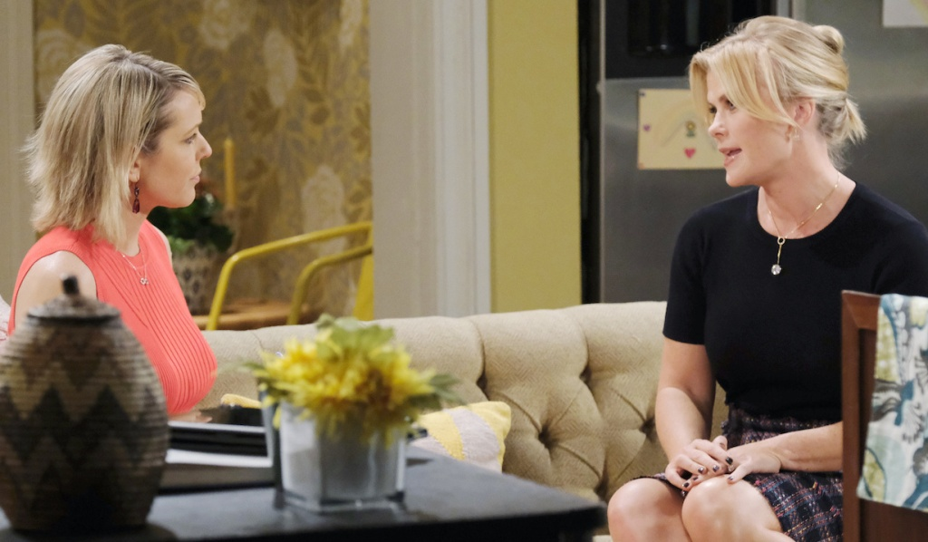 Sami visits Nicole on Days of Our Lives
