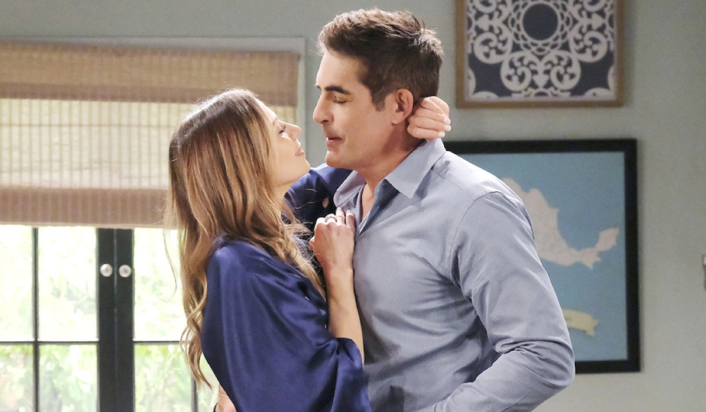 Ava and Rafe get flirty in the kitchen on Days of Our Lives