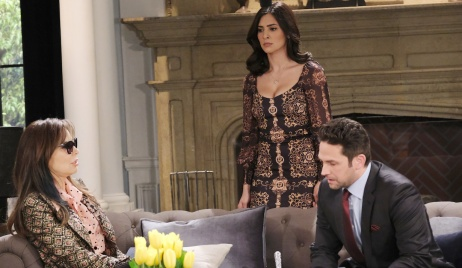 Gabi and Jake confront Kate on Days of Our Lives