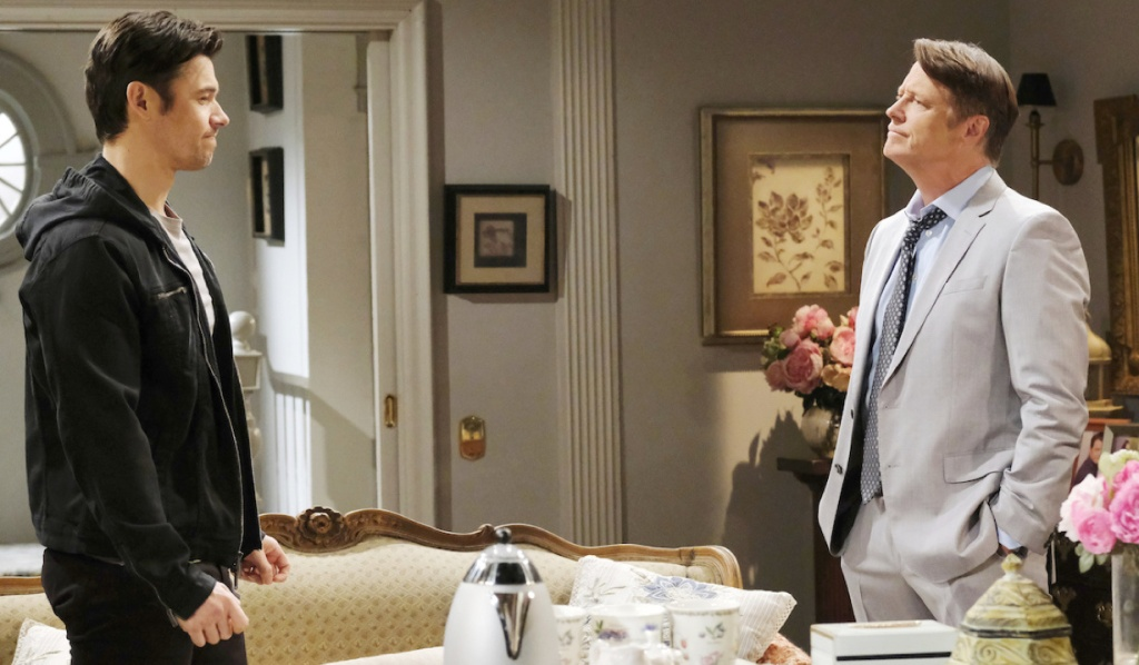 Xander wants to move in with Jack on Days of Our Lives