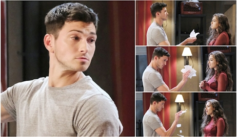 Ben gets defiant with Ciara on Days of Our Lives