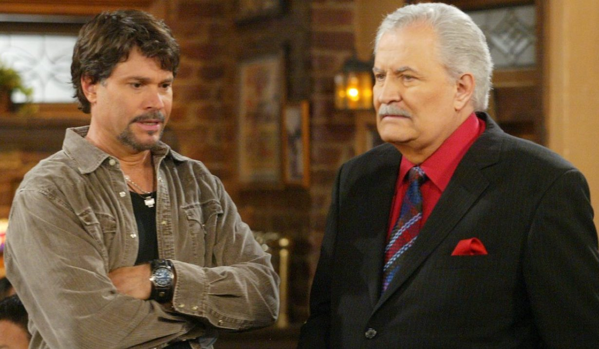 Victor and Bo on Days of Our Lives