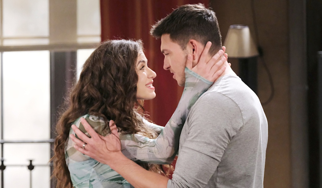 Ben's dream of Ciara on Days of Our Lives