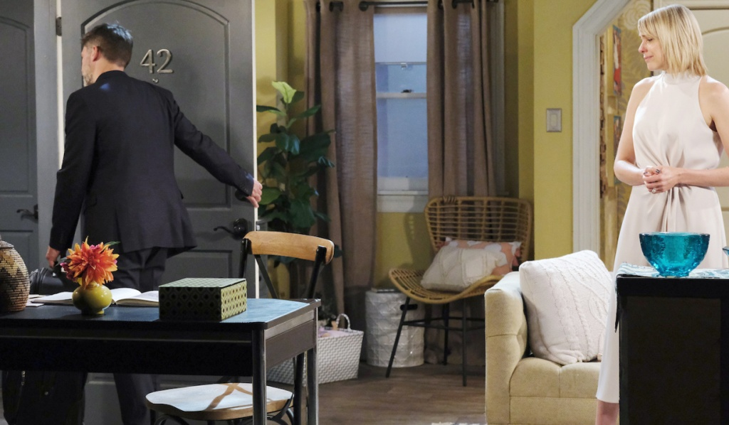 Eric leaves Nicole on Days of Our Lives