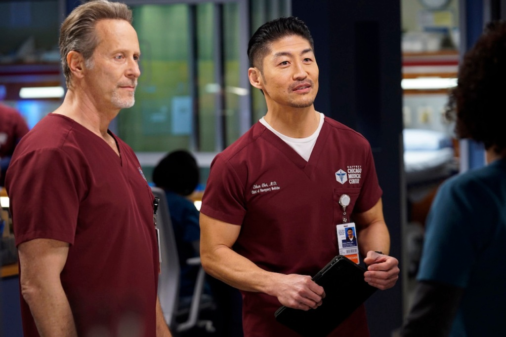 Dean and Ethan on Chicago Med
