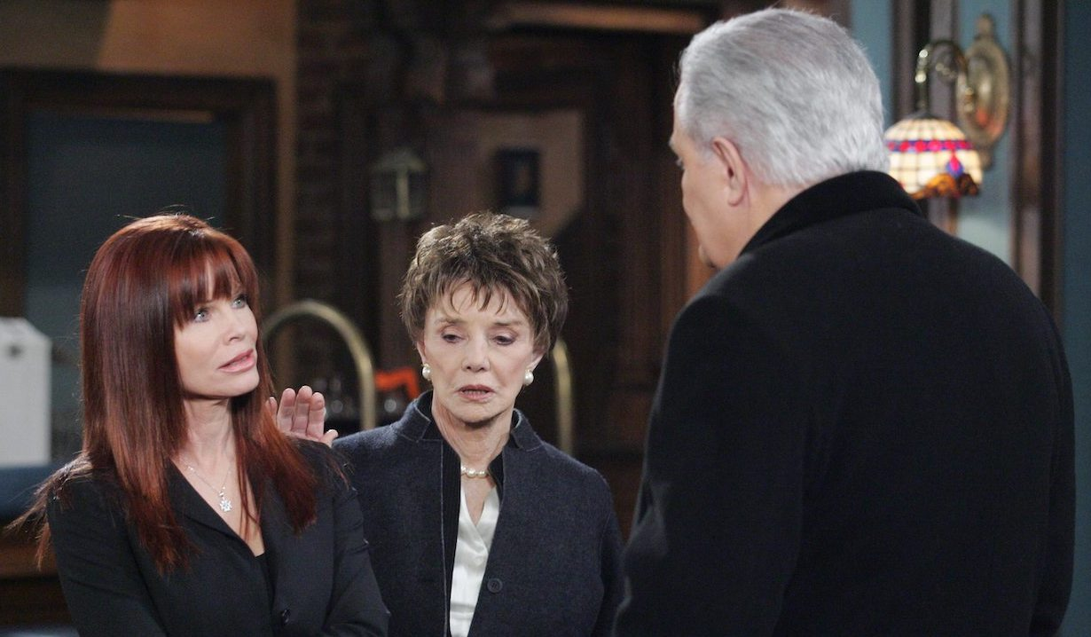 Victor, Caroline and Kimberly on Days of Our Lives