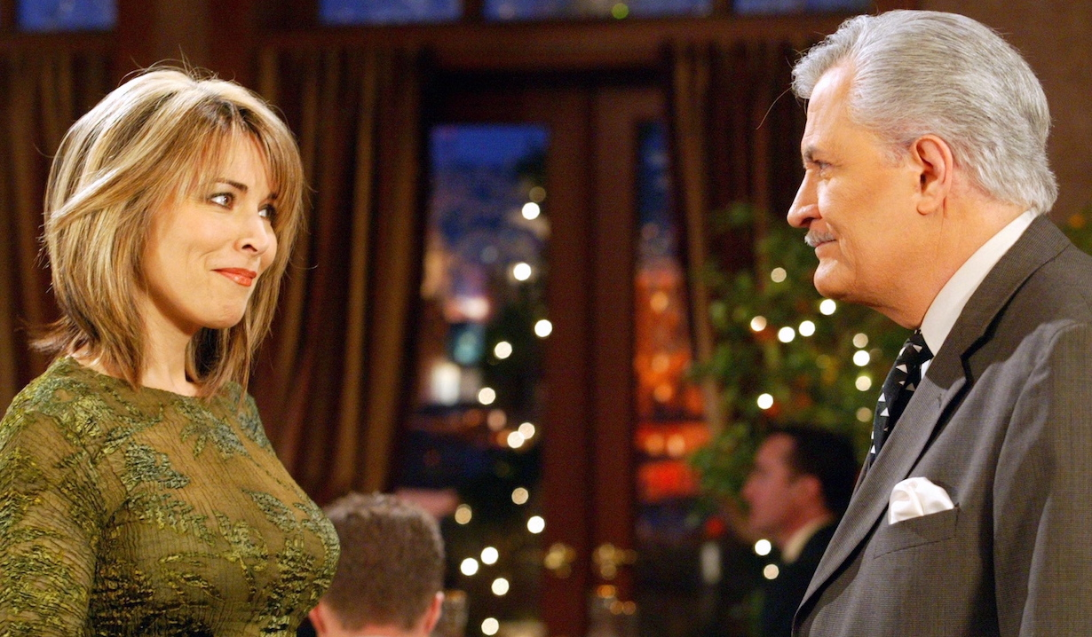 Victor and Kate on Days Of Our Lives