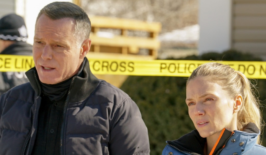 Voight and Upton on Chicago P.D.