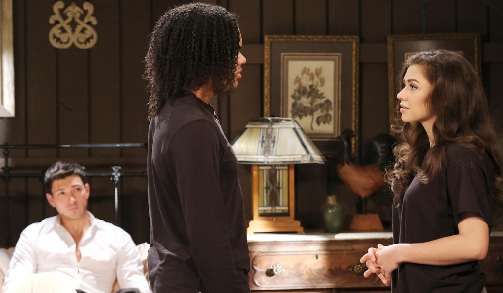 Ben watches as Ciara breaks Theo's heart on Days of Our Lives