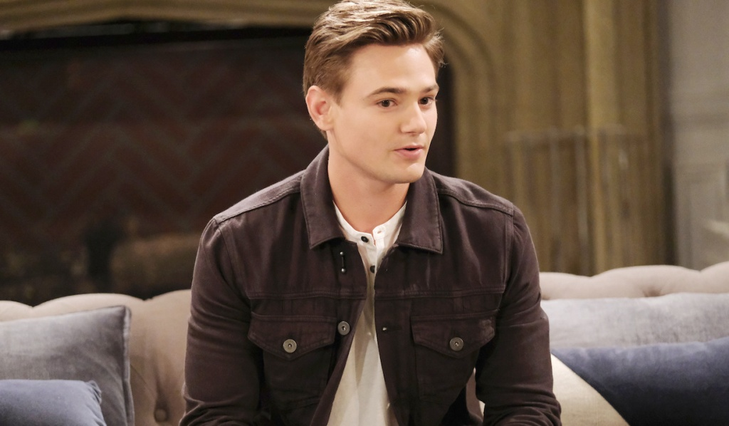 Carson Boatman as Johnny DiMera on Days of Our Lives