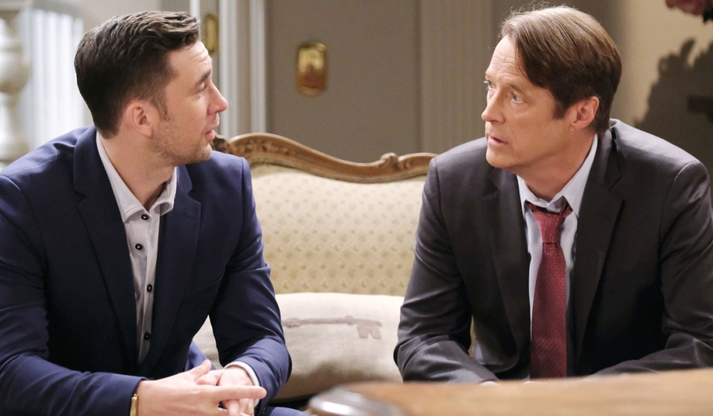 Chad confides in Jack on Days of Our Lives