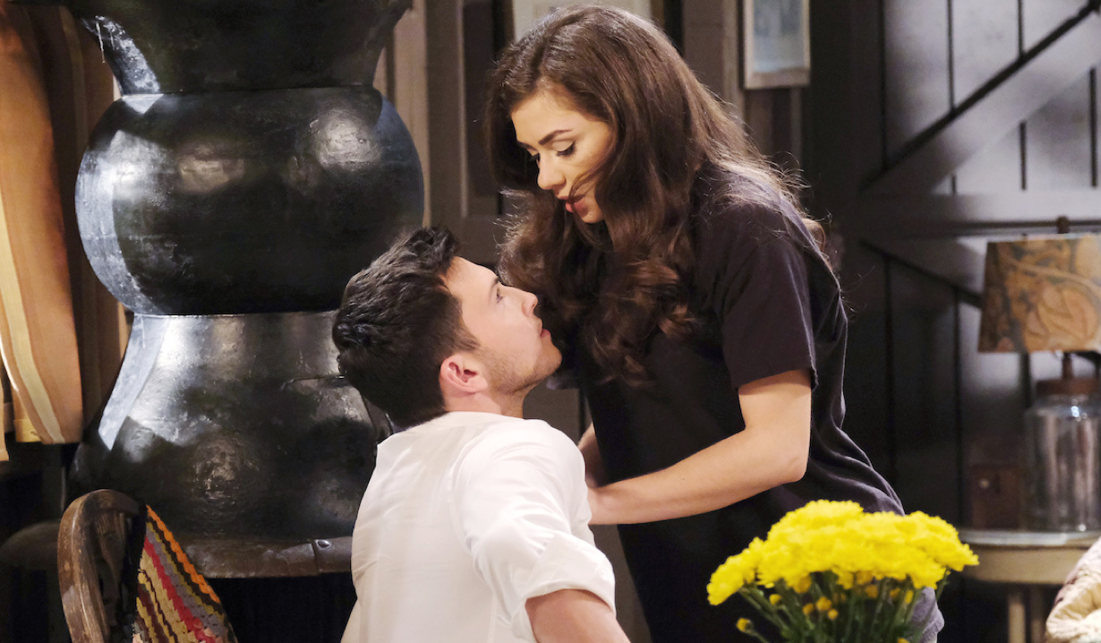 Ciara and Ben share a charged moment on Days of Our Lives