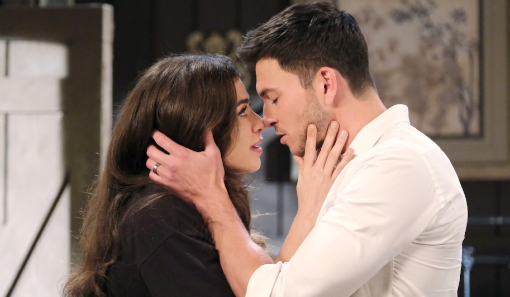 Ciara and Ben hold each other on Days of Our Lives