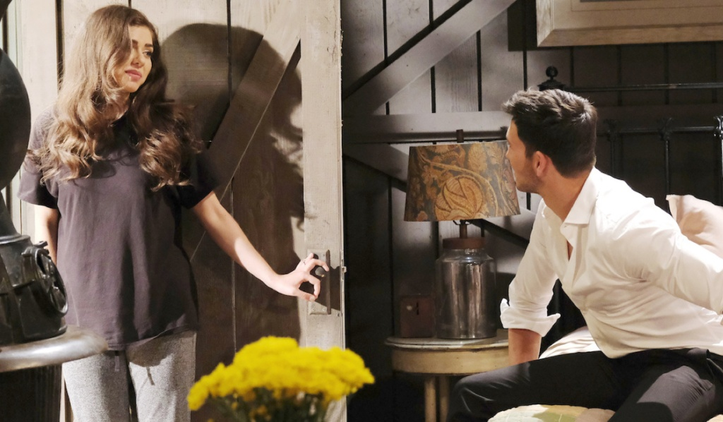 Ciara returns to Ben at the cabin on Days of Our Lives