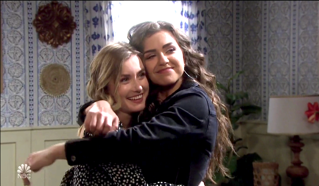 Claire and Ciara make up on Days of Our Lives