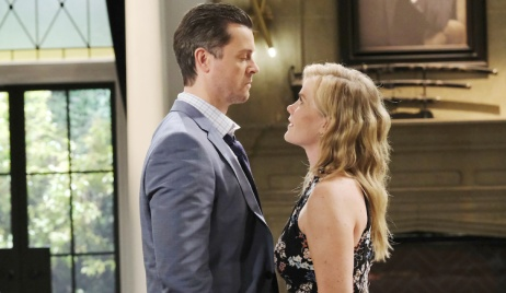 Sami stands up to a defiant EJ on Days of Our Lives