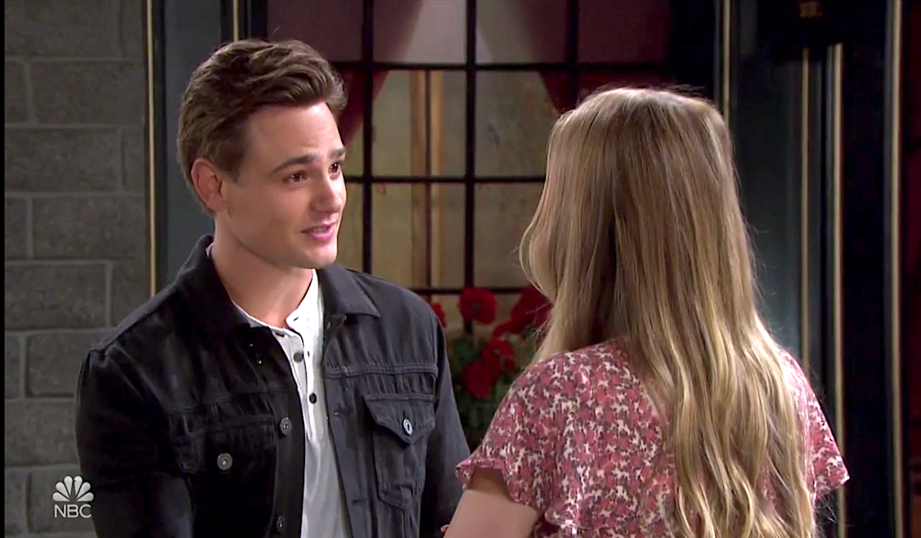 Johnny and Allie catch up on Days of Our Lives
