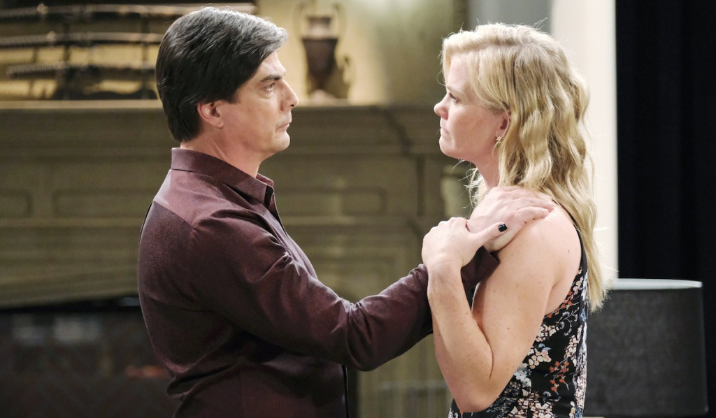 Lucas and Sami have emotional conversation on Days of Our Lives