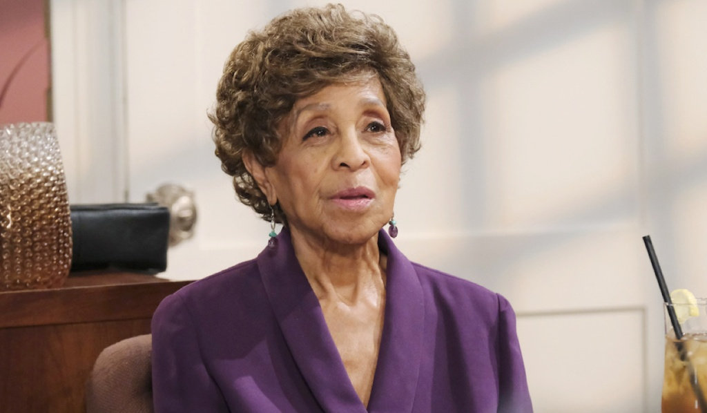 Marla Gibbs as Olivia on Days of Our Lives