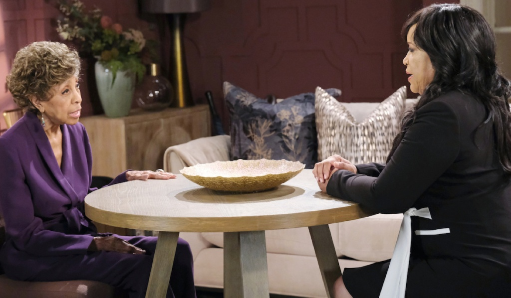 Paulina and Olivia talk about Lani on Days of Our Lives