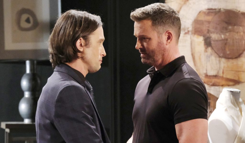 Philip and Brady square off on Days of Our Lives