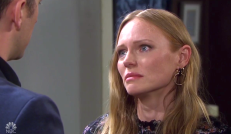 Abigail considers Chad's request on Days of Our Lives