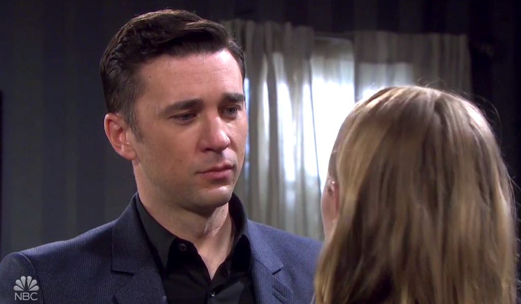 Chad begs Abigail to come home with him on Days of Our Lives