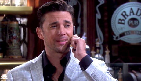 Chad calls Sonny on Days of Our Lives