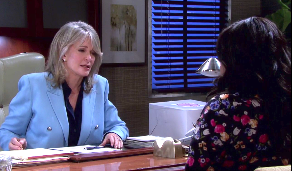 Marlena learns Paulina's secret on Days of Our Lives