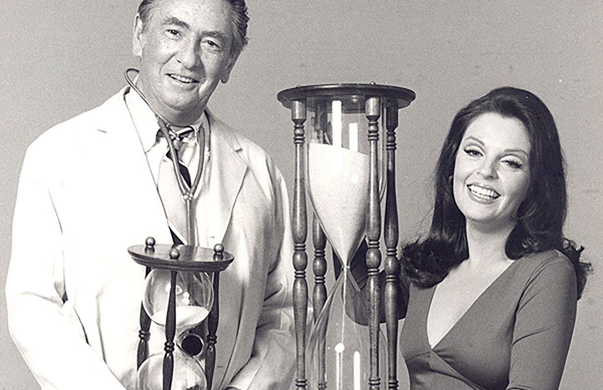 Macdonald Carey and Susan Seaforth Hayes Days of our Lives