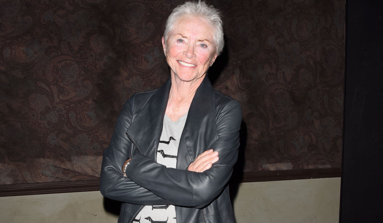 The 77-years-old American soap actress Susan Flannery