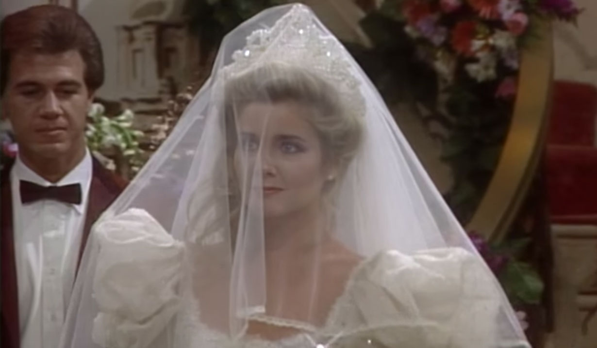 Melody Thomas Scott as Nikki Newman on Young and Restless