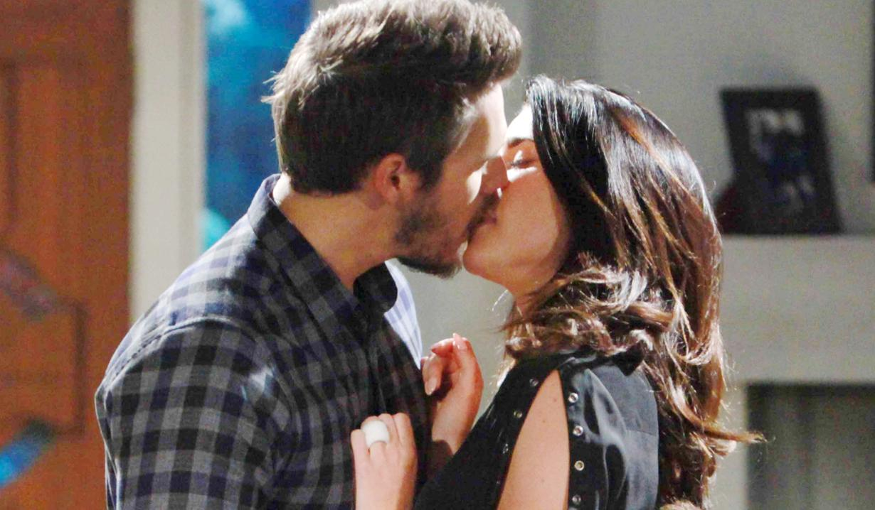 Steffy and Liam's kiss