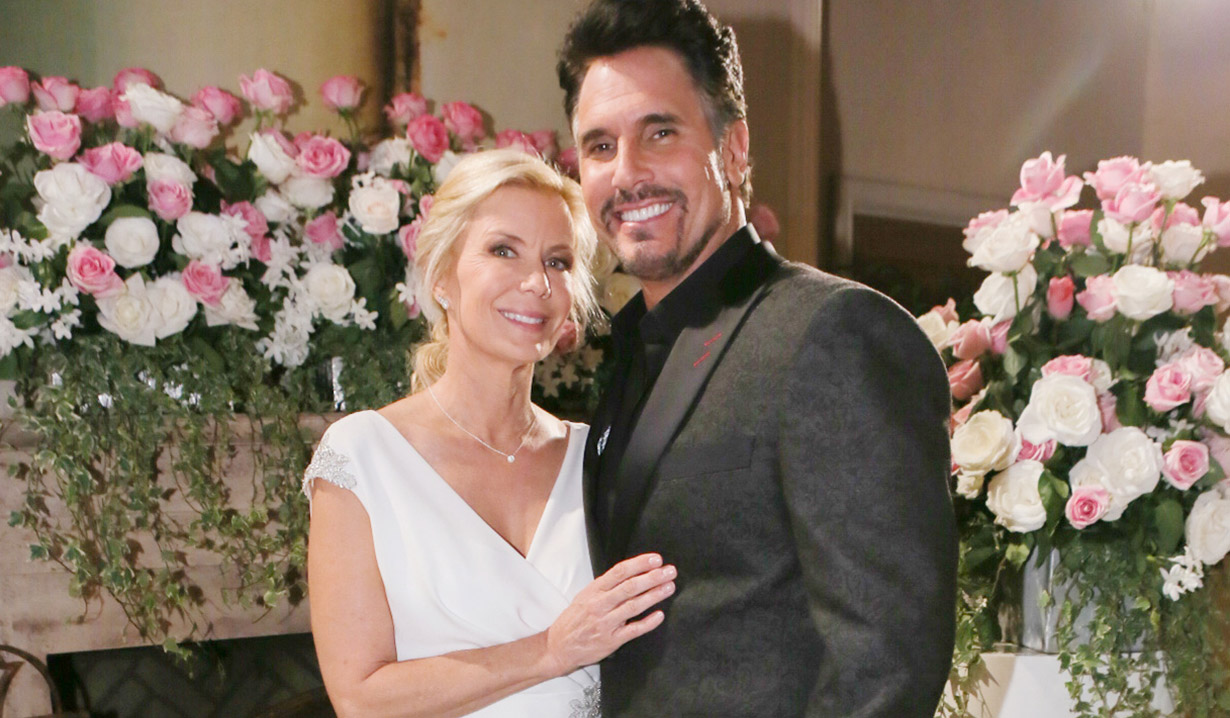 Bill and Brooke on Bold and Beautiful