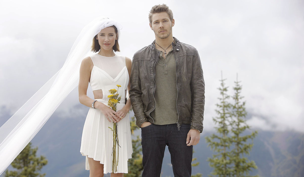 Liam and Steffy on Bold and Beautiful
