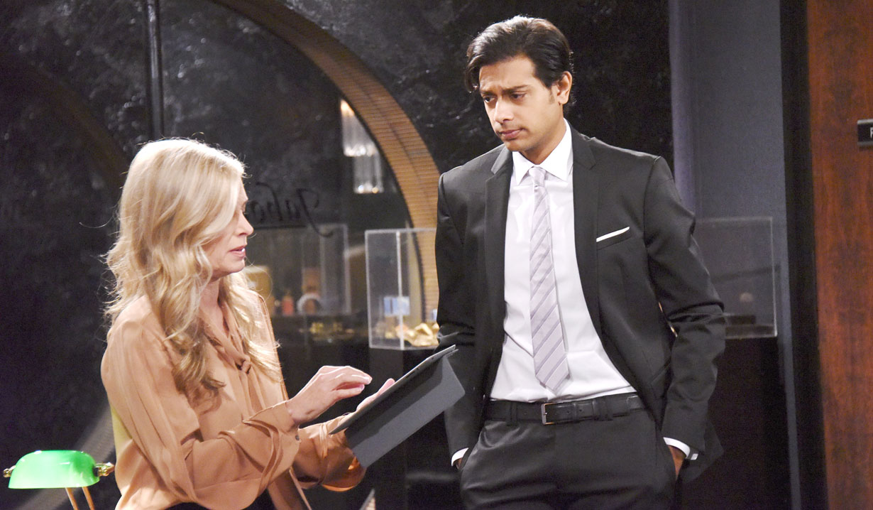 Abhi Sinha as Ravi Shapur The Young and the Restless