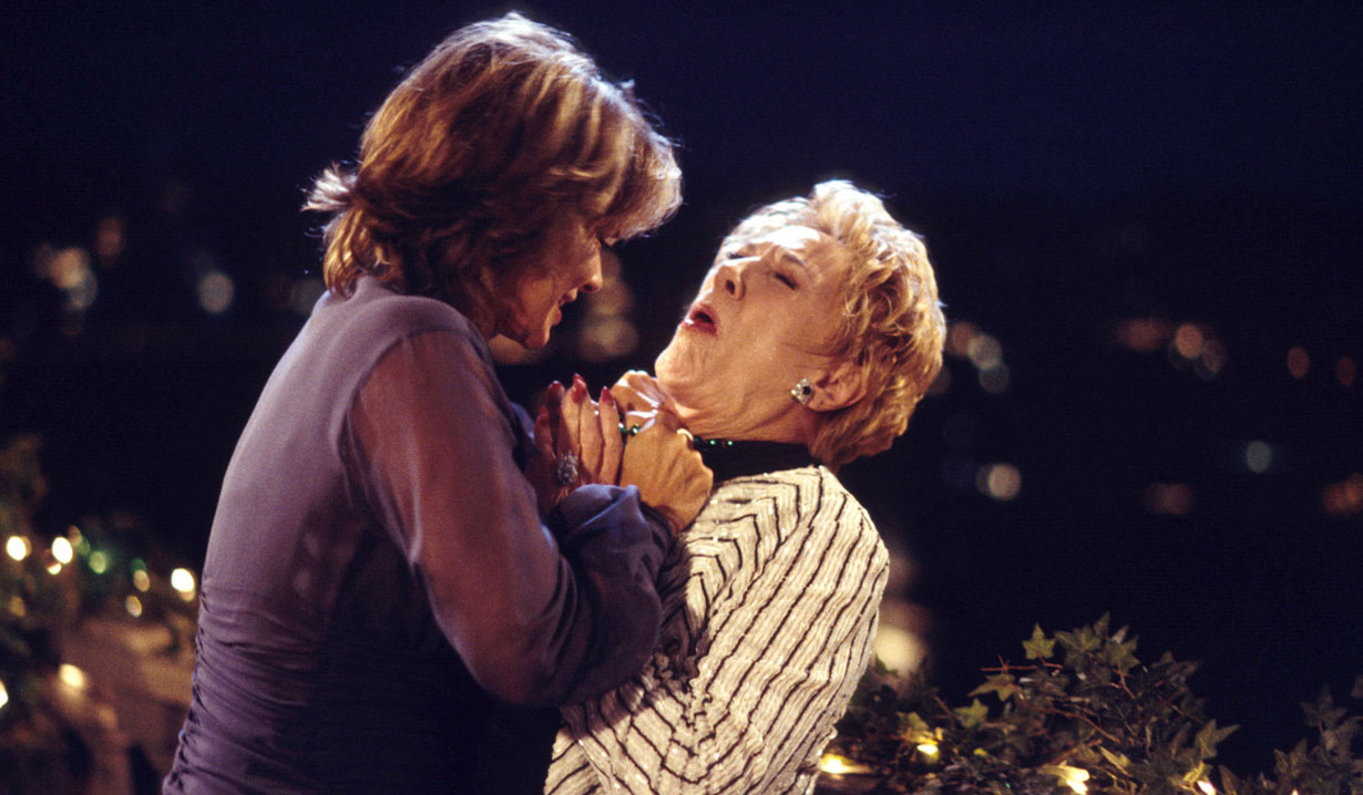 jill and kay fight young and the restless