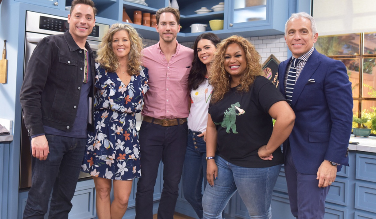 Laura Wright And Wes Ramsey Cook On Food Network S The